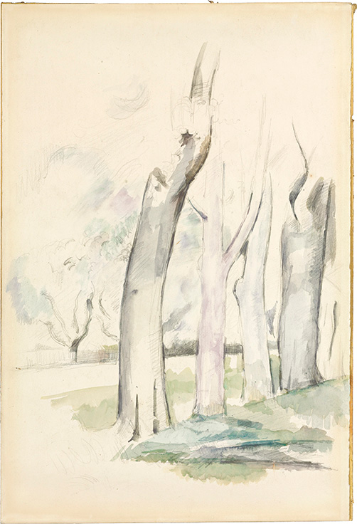 Discovery An Unrecorded Drawing By Paul Cézanne Christies