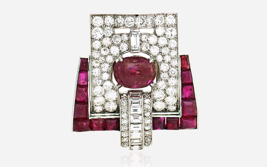 Art Deco Jewelry A revolution in form and function