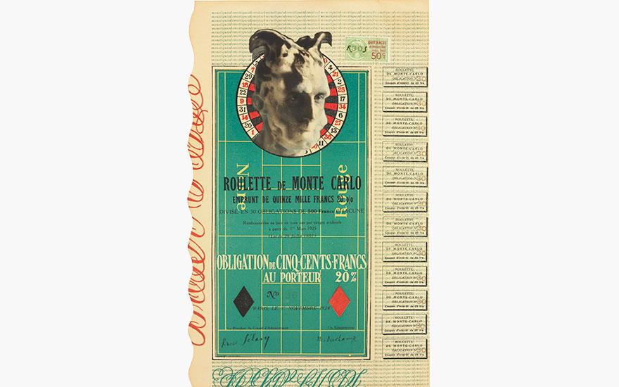 Marcel Duchamp's Monte Carlo Bond (No. 30)