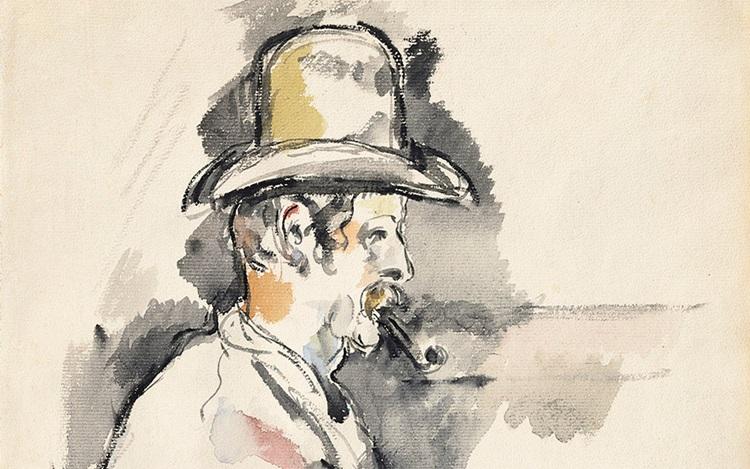 Paul Cézanne's Lhomme à la pip auction at Christies