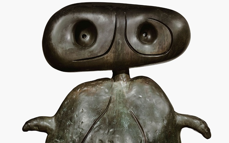 Joan Miró's Personnage auction at Christies