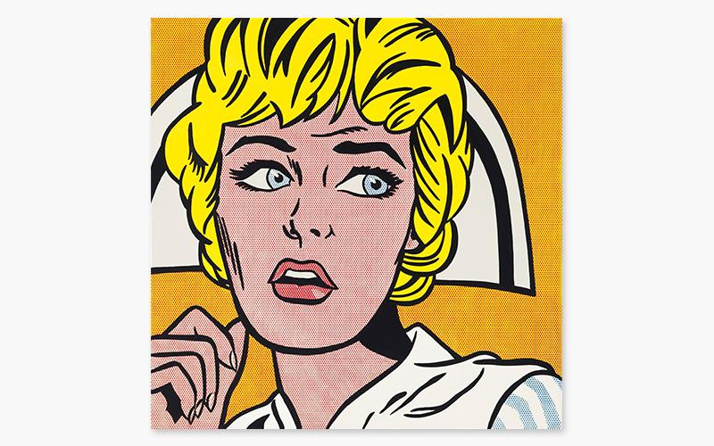 Bien connu Roy Lichtenstein's Nurse | Christie's OD56