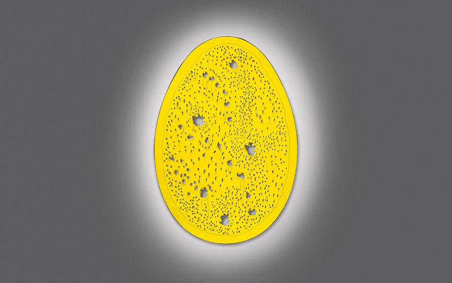 Lucio Fontana'sConcetto spaziale, La fine di Dio