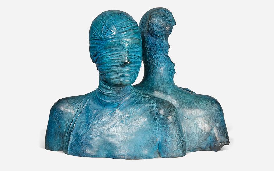 Three sculptures. Three ways of seeing