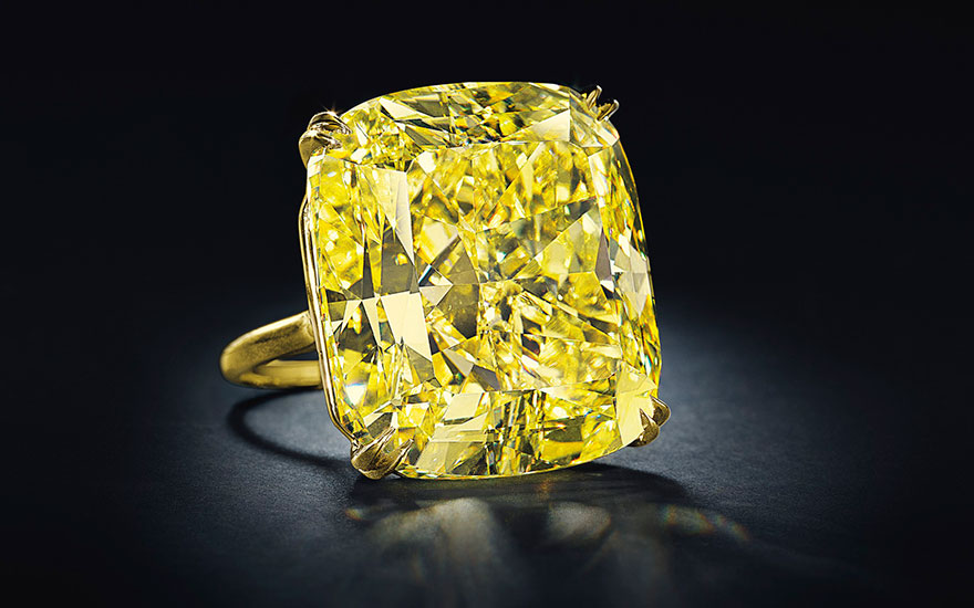 An Exceptional Yellow Diamond