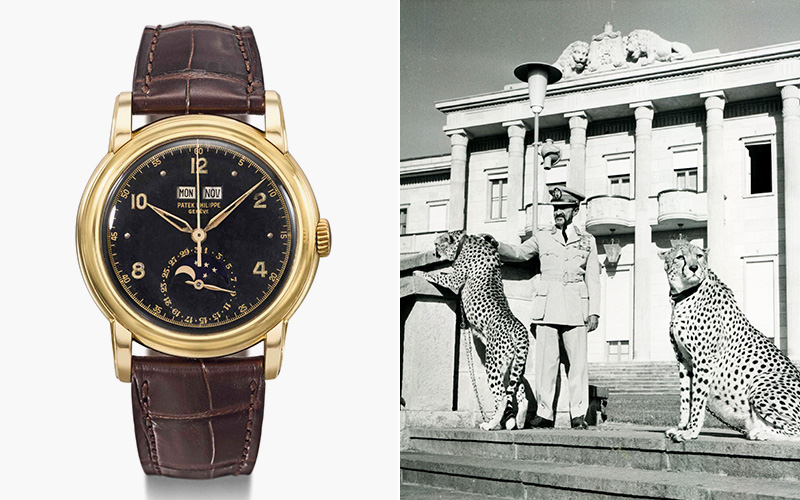 Made for an Emperor — A one of a kind Patek Philippe