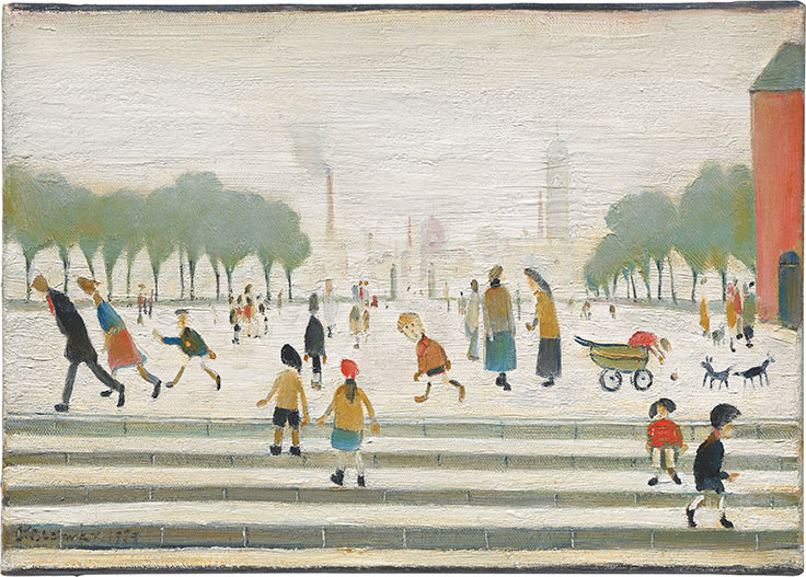 The early life and times of painter laurence stephen lowry