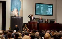 Running total for week of New  auction at Christies