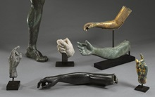 Three arms, a leg and two hand auction at Christies
