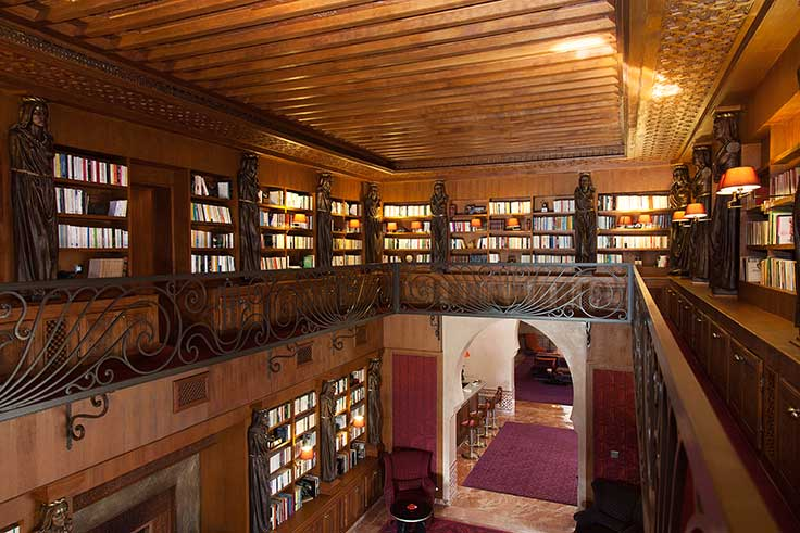 Luxury Home Amenities luxury living: private libraries | christie's