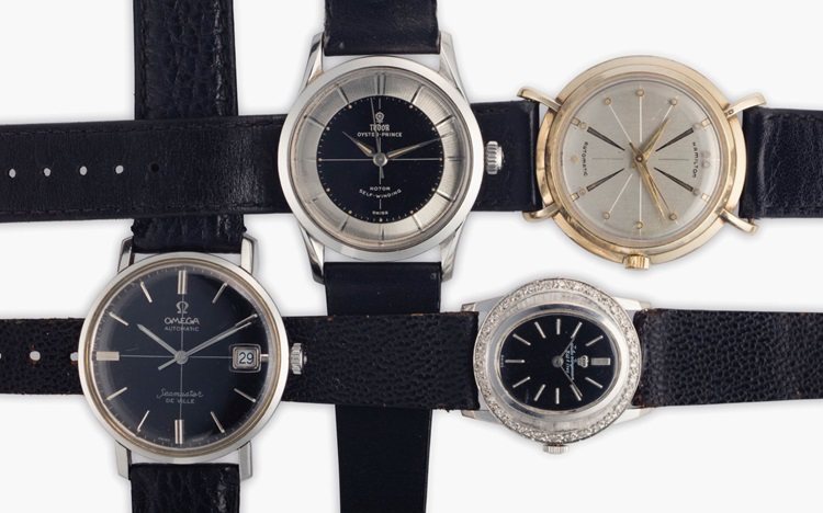 Watches worn by Mad Men auction at Christies