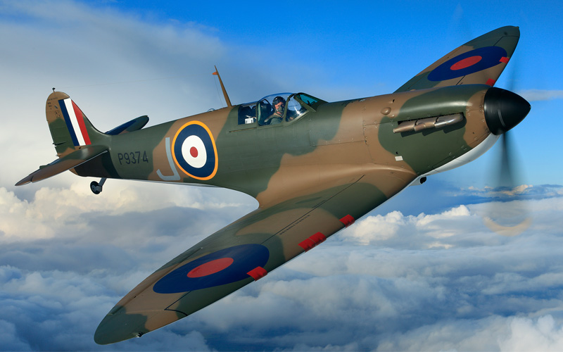 'My highlight of 2015' — Vickers Supermarine Spitfire P9374