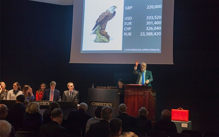 The global appeal of a politic auction at Christies