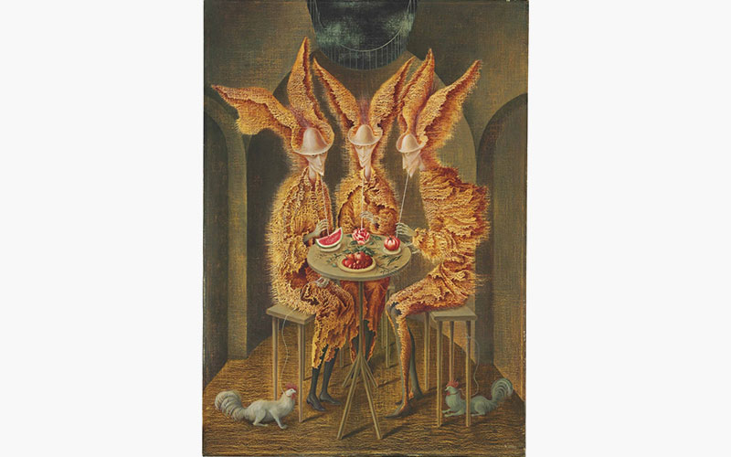 'My highlight of the year' — Vampiros Vegetarianos by Remedios Varo