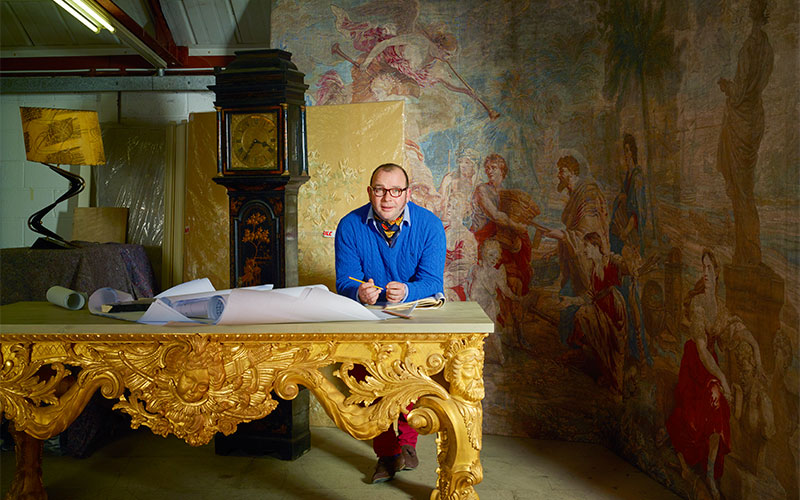 The 18th-century cabinetmaker who was born 300 years too late