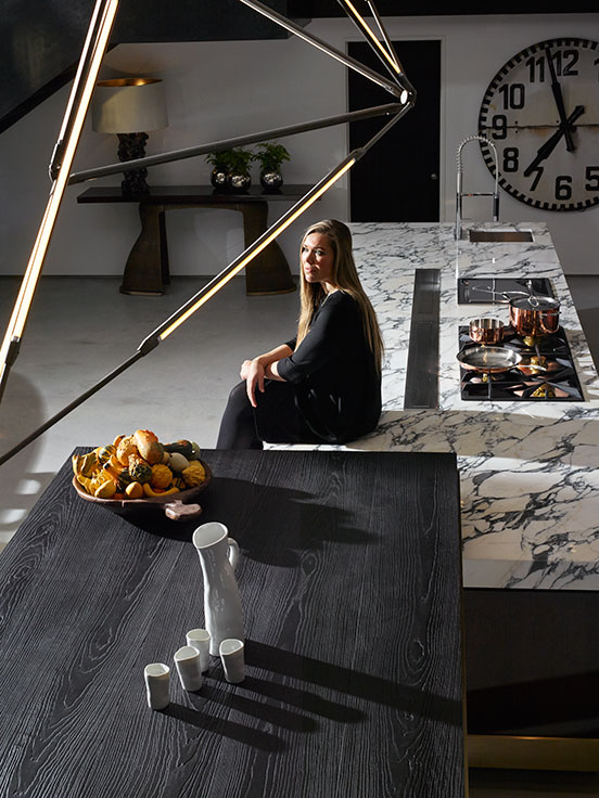 deluxe kitchens of interior designer fiona barratt-campbell