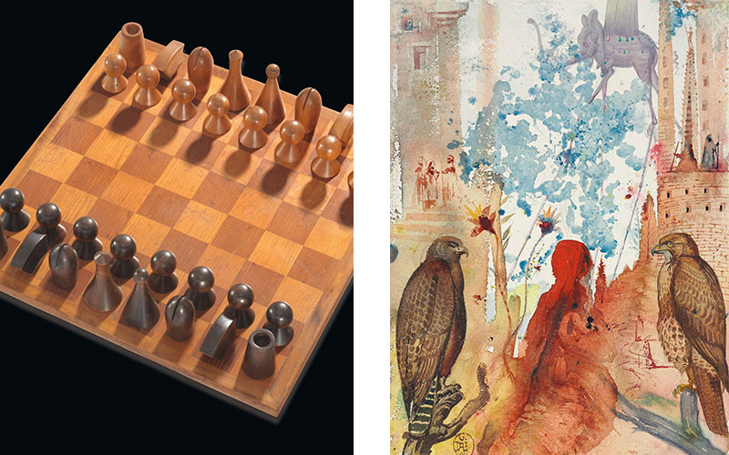 From Man Ray's chess set to Dalí's Arabian nights