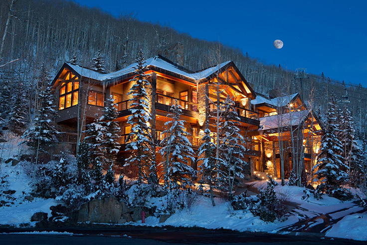 Luxury Living Ski In Ski Out Homes Christie S