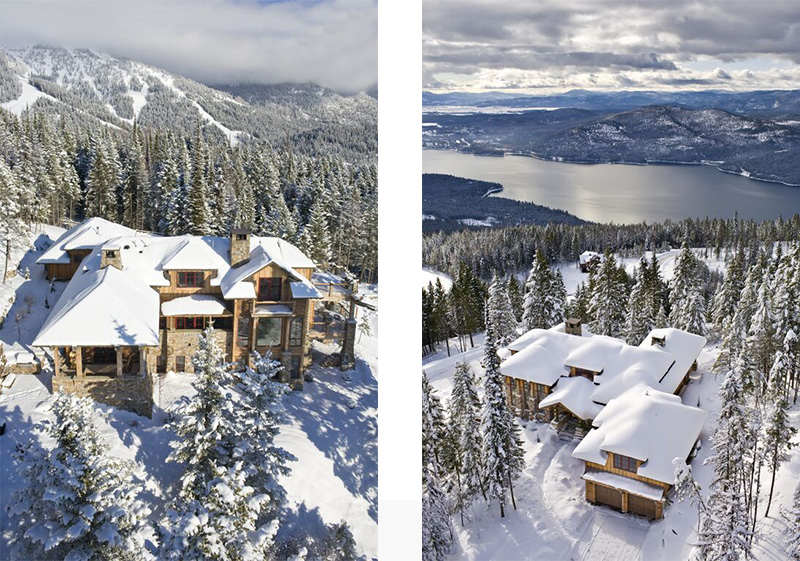 This Ski In, Ski Out Retreat In Whitefish Mountain Resort Has Views Over  Whitefish Lake And Flathead Valley, On The Doorstep Of Montanau0027s Glacier  National ...