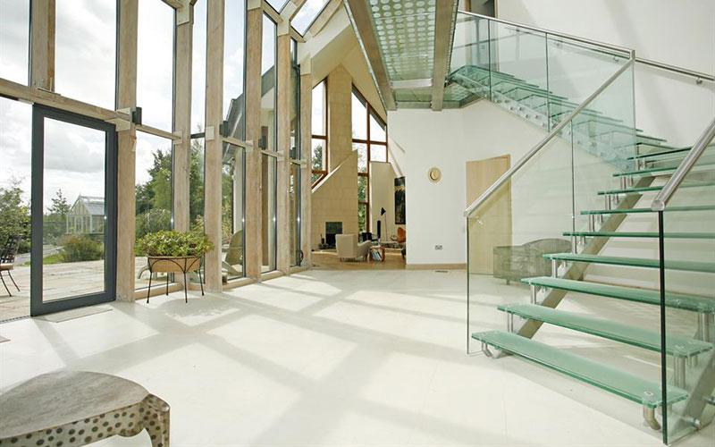 Luxury Living Glass houses