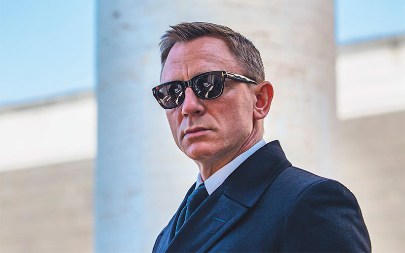 Dressing James Bond