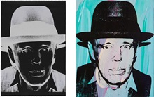When Warhol met Beuys auction at Christies