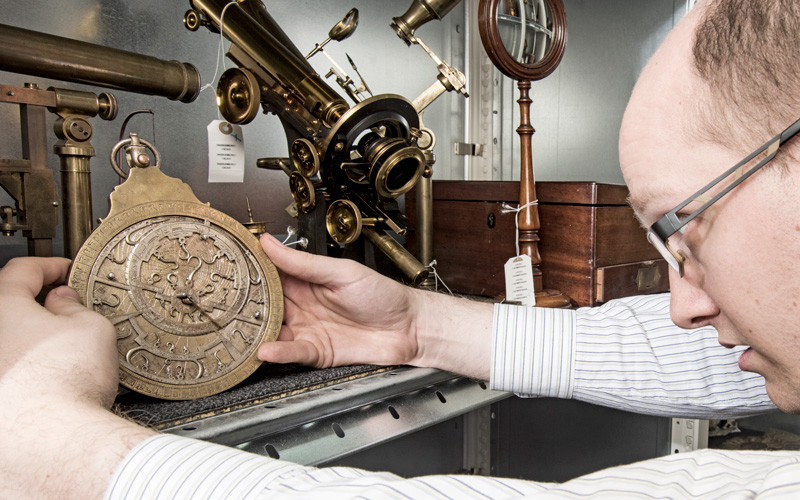5 minutes with... An 18th-century astrolabe