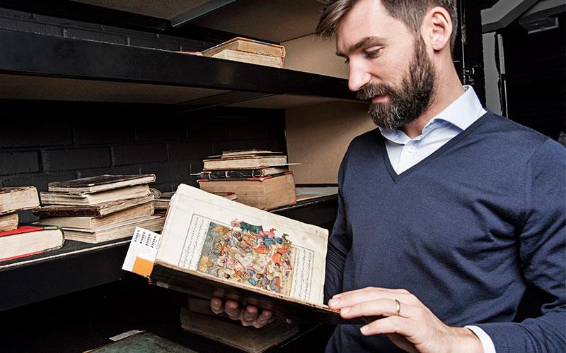 5 minutes with… A 19th-century Islamicmanuscript