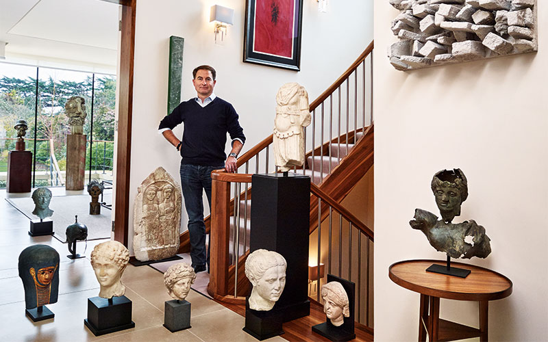 'Absolutely mind-blowing' — how a collector of Contemporary Art got switched on to Antiquities