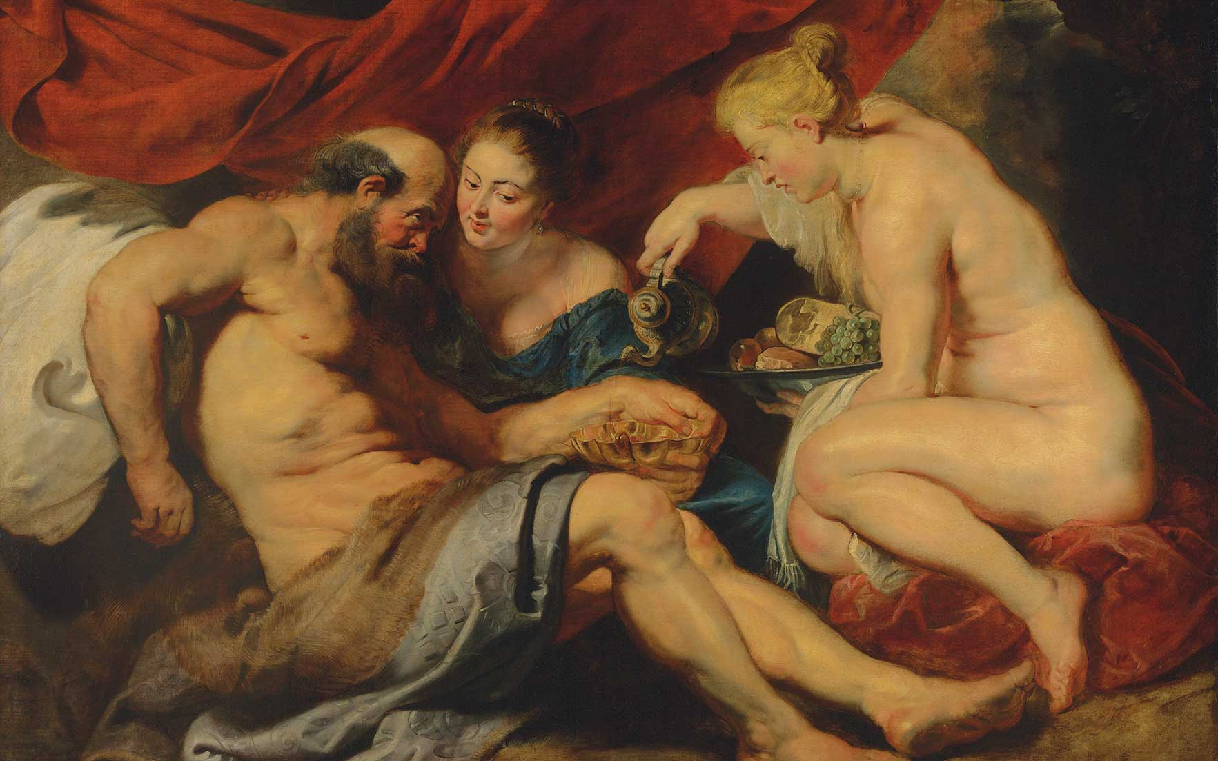 Rubens masterpiece Lot and his Daughters to lead in London