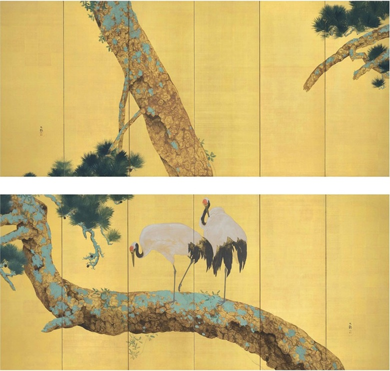 Japanese screens collecting guide christies ink colour gold and gold leaf on paper 67 x 151 in 1702 x 3839 cm each 2 sold for 267750 in the japanese and korean art sciox Gallery