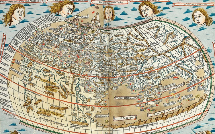 How man mapped his world auction at Christies