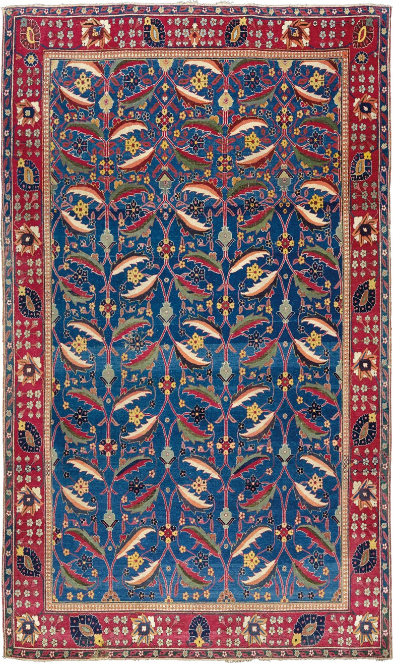 A Kirman 'vase' carpet. Southeast Persia, late 17th century. 8ft 3 in x 5ft (251 cm x 151 cm). This piece was offered in Oriental Rugs and Carpets on 19 April 2016 at Christie's in London and sold for £962,500