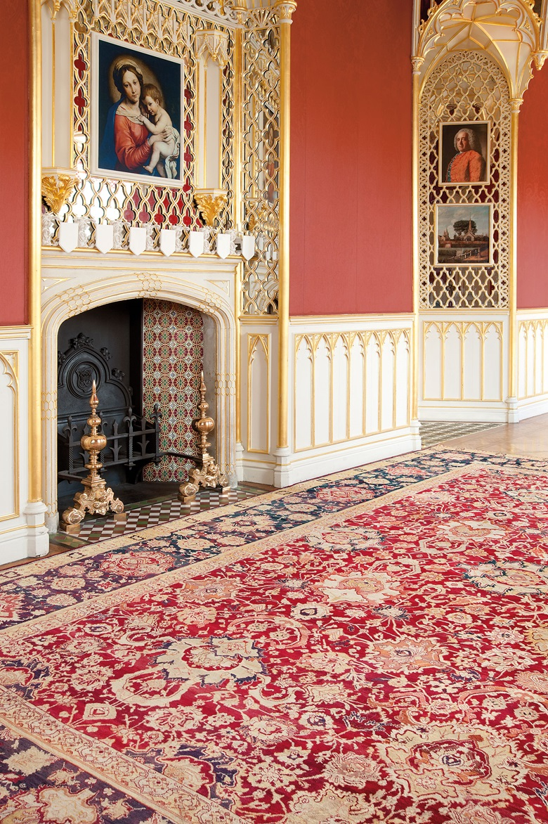The Mount Congreve Agra Carpet North India Circa 1880 17ft 1 In