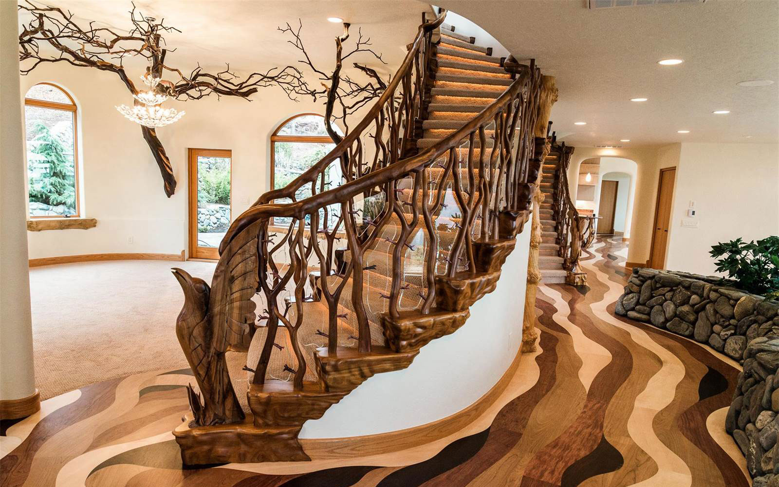 Luxury living Spectacular staircases