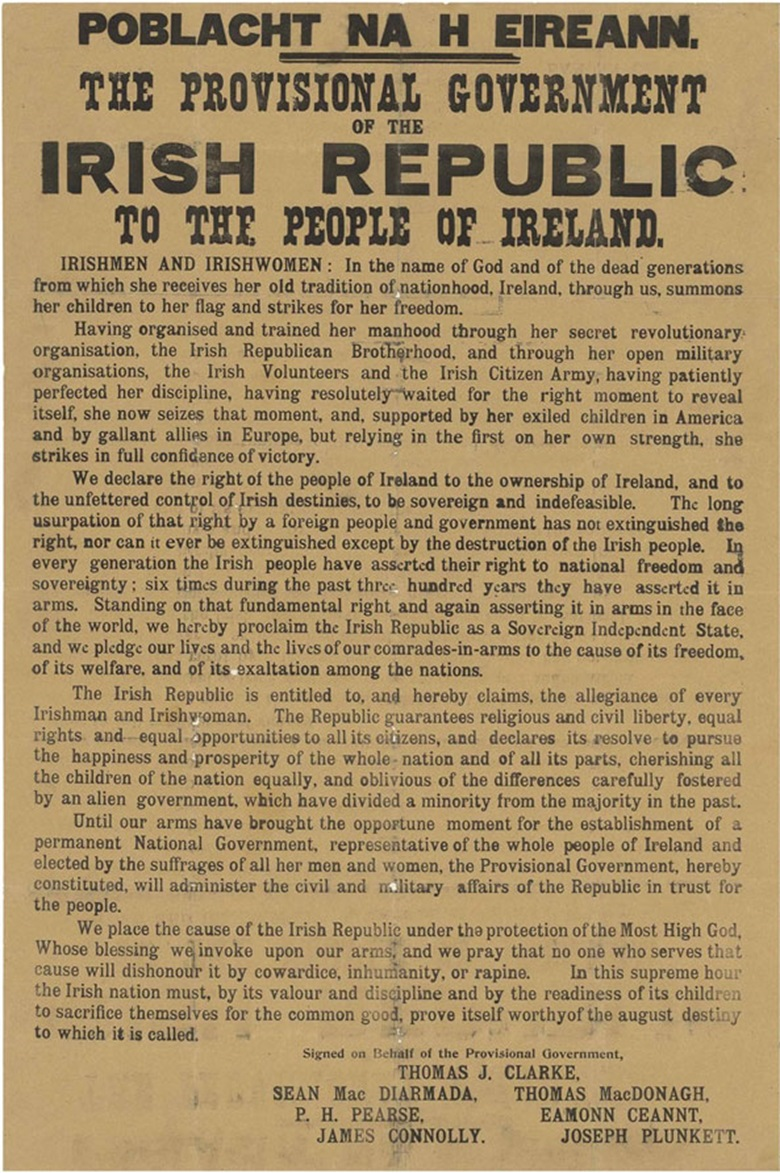 independence declaration of ireland Download a pdf of the declaration of independence the declaration of independence 'and whereas the irish people is resolved to secure and maintain its ratify the establishment of the irish republic and pledge ourselves and our people to make this declaration effective by every.