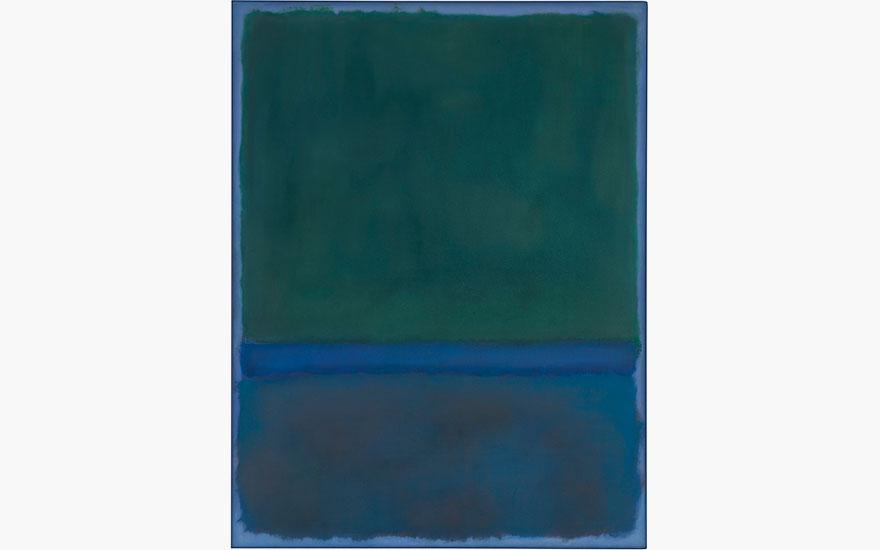 Mark Rothko's seminal No.17 to