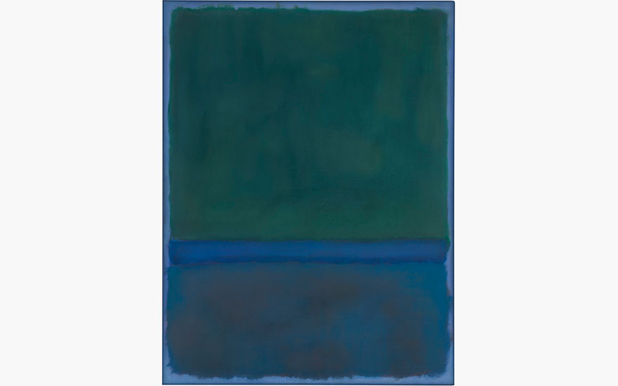 Mark Rothko's seminal No.17 to