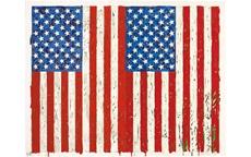Flags 1 by Jasper Johns: A mas