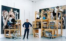 Jeff Koons: 'I love how art ca auction at Christies