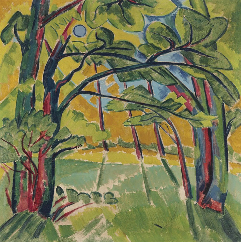 Max Pechstein One Canvas Two Paintings Christies
