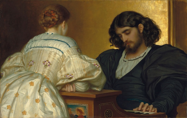 Frederic, Lord Leighton, P.R.A. (1830-1896), Golden Hours, 1864. Oil on canvas. 31 12 x 49 in. (80 x 124.5 cm.) Estimate £3,000,000-5,000,000. This work is offered in Defining British Art Evening Sale at Christie's London on 30 June