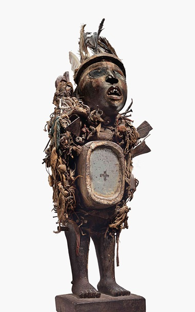 A Kongo-Vili power figure, Democratic Republic of Congo. Height 25 23 in. (65 cm.). Estimate $600,000-900,000. This work is offered in Evolution of Form African & Oceanic Art at the Genesis of Modernism on 12 May at Christie's New York