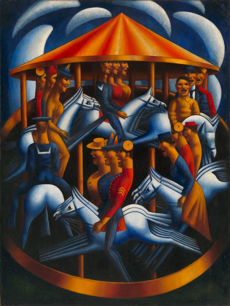 Mark Gertler, Merry-Go-Round, 1916. © Tate, London 2015