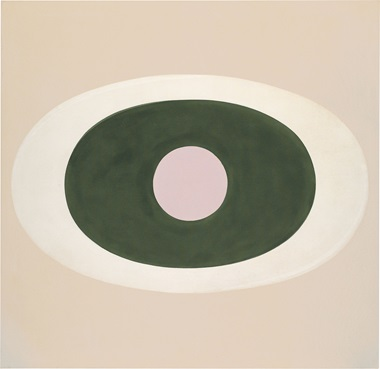 Kenneth Noland (1924-2010), New Problem, 1962. Acrylic on canvas. 69 58 × 71 78 in. (176.8 × 182.6 cm.). Estimate $300,000-500,000. This work is offered in the Post-War and Contemporary Art Morning Session on 11 May at Christie's New York