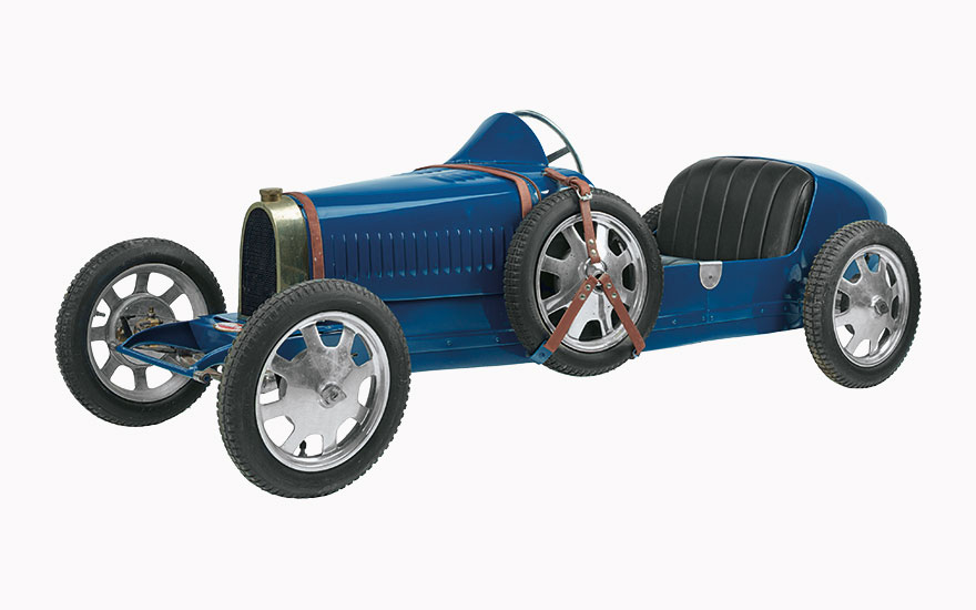 The ultimate luxury toyThe Bugatti Baby 52