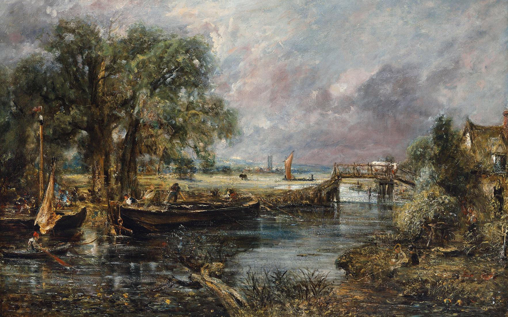 A work of genius by John Constable