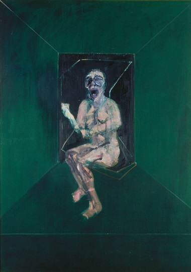 Francis Bacon (1909-1992), Study for the Nurse from the Battleship Potemkin, 1957. Oil paint on canvas. 1980 x 1420 mm. © The Estate of Francis Bacon. All rights reserved. DACS 2016. © Städel Museum - U. Edelmann – ARTOTHEK