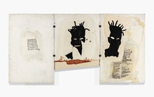 Jean-Michel Basquiat works fro auction at Christies