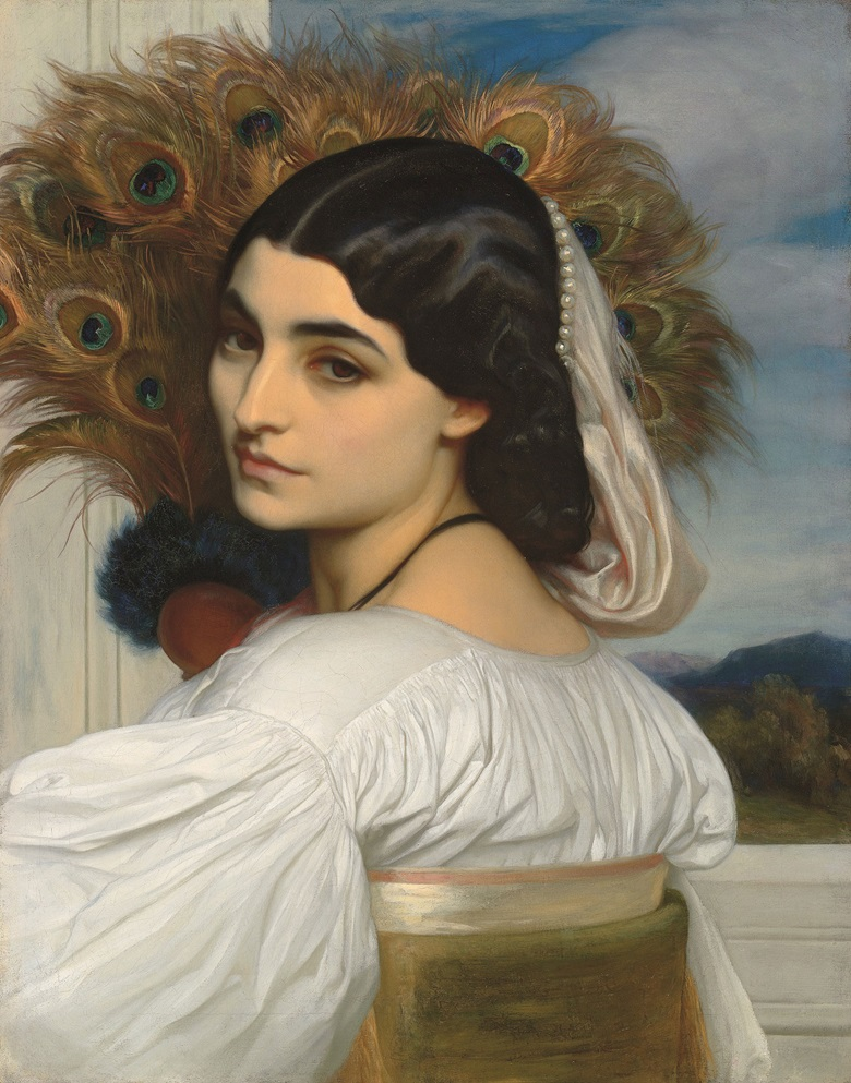 Frederic, Lord Leighton, P.R.A. (1830-1896), Pavonia, circa 1859. Oil on canvas. 20 ⅞ x 16 ⅓ in. (53 x 41.5 cm.) Estimate £1,500,000-2,500,000. This work is offered in the Defining British Art Evening Sale on 30 June at Christie's London